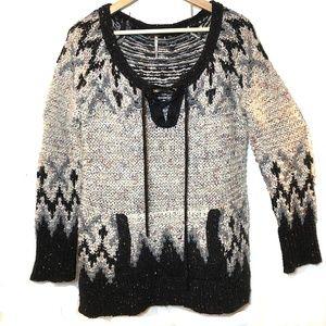 FREE PEOPLE Oversized Sweater Women's S Boho Knit